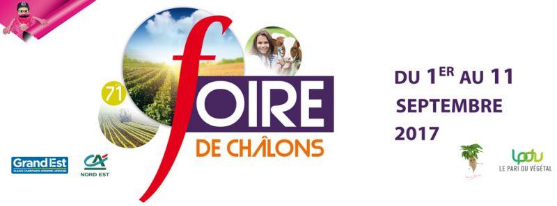 71 eme FOIRE DE CHALONS EN CHAMPAGNE